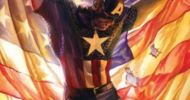 Captain America #4 cover by Alex Ross
