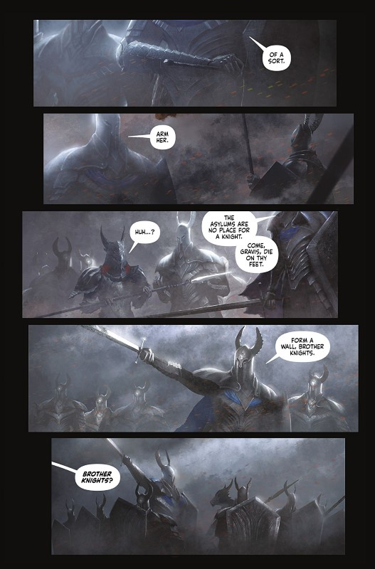 Dark Souls: Age of Fire #4 art by Anton Kokarev