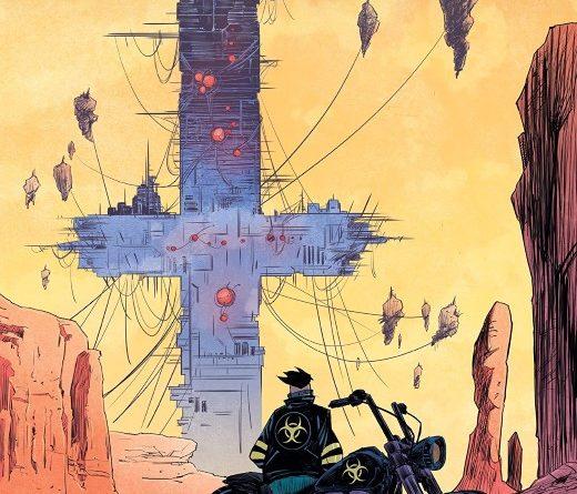 Death Orb #1 cover by Alejandro Aragon
