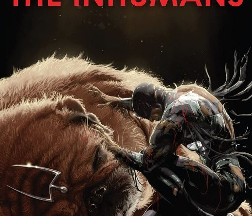 Death of the Inhumans #5 cover by Kaare Andrews