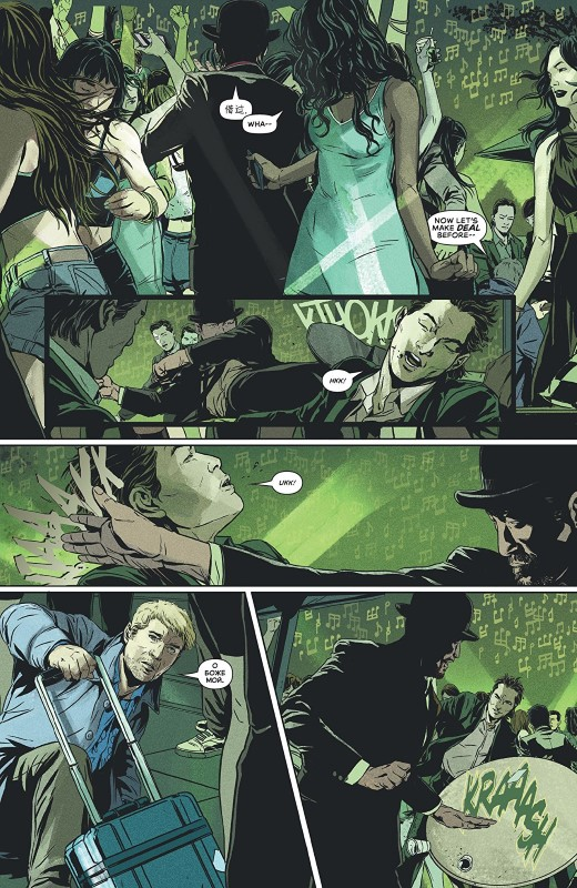 James Bond: 007 #1 art by Marc Laming, Triona Farrell, and letterer Ariana Maher