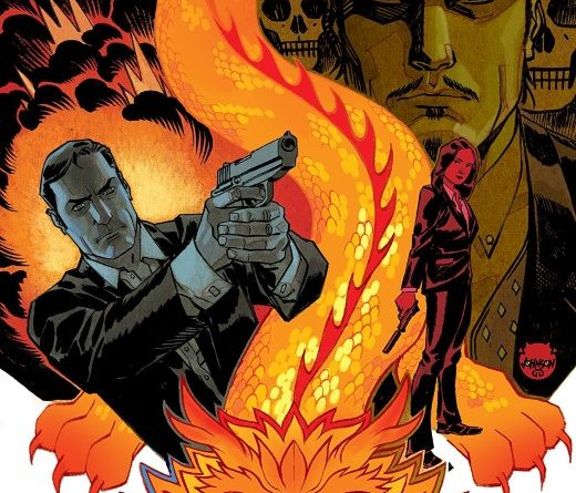 James Bond: 007 #1 cover by Dave Johnson