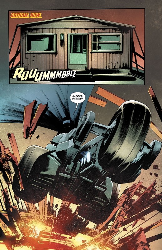 The Batman Who Laughs #1 art by Jock, FCO Plascencia, and letterer Sal Cipriano