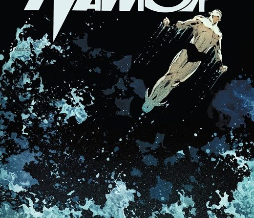 Best Defense: Namor #1 cover by Ron Garney and Richard Isanove