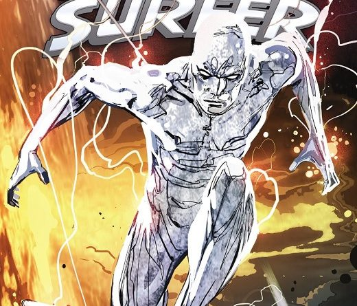 The Best Defense: The Silver Surfer #1 cover by Ron Garney and Richard Isanove