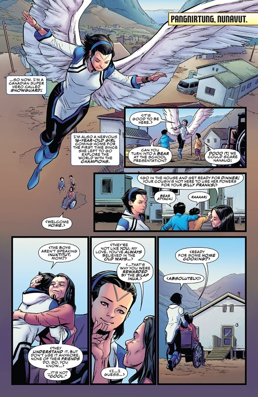Champions Annual #1 art by Marcus To, Jordan Boyd, and letterer VC's Clayton Cowles