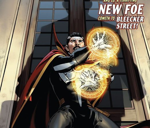 Doctor Strange #9 cover by Jesus Saiz