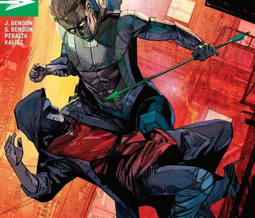Green Arrow #47 cover by Alex Maleev