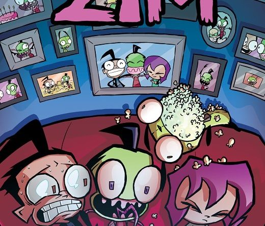 Invader Zim #37 cover by Warren Wucinich and Fred C. Stresing