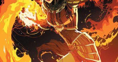 Magic the Gathering: Chandra #1 cover by Ken Lashley and Matt Herns