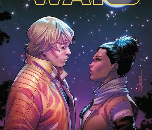 Star Wars #58 cover by Jamal Campbell