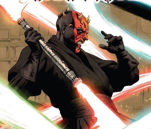 Star Wars Age of Republic: Darth Maul #1 cover by Paolo Rivera