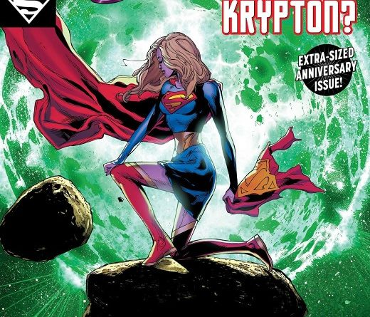 Supergirl #25 cover by Doug Mahnke, Jaime Mendoza, and Wil Quintana