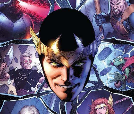 Asgardians of the Galaxy #5 cover by Dale Keown and Jason Keith