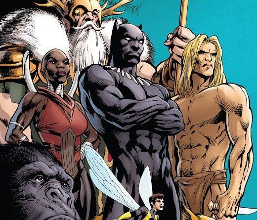 Avengers #12 cover by Alan Davis, Mark Farmer, and Jim Campbell