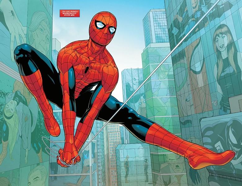 Friendly Neighborhood Spider-Man #1 art by Juann Cabal, Nolan Woodard, and letterer VC's Travis Lanham