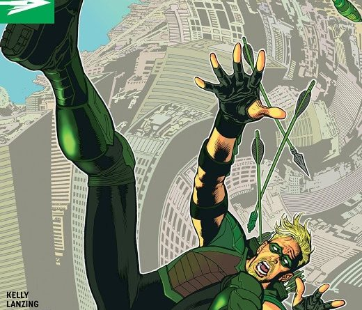 Green Arrow #48 cover by Kevin Nowlan