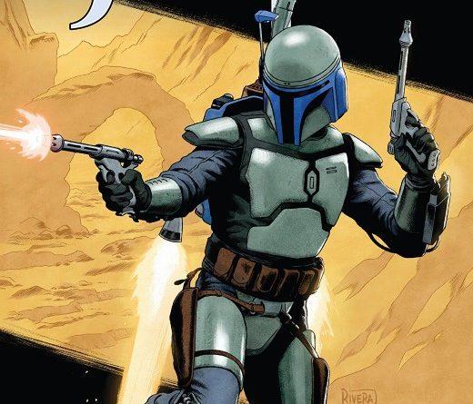 Star Wars Age of Republic: Jango Fett #1 cover by Paolo Rivera
