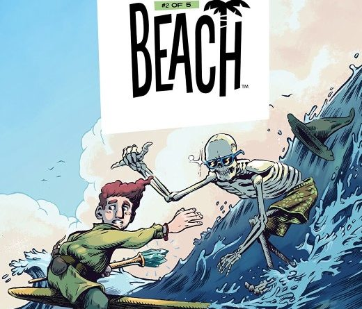 Wizard Beach #2 cover by Conor Nolan