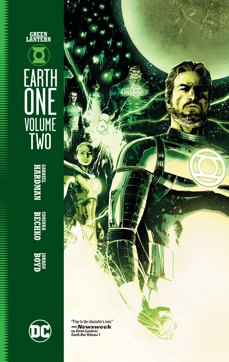 Dc Comics Offers Up A Look At Jon Stewart And Arisia As Presented In Green Lantern Earth One Vol 2 Comicon