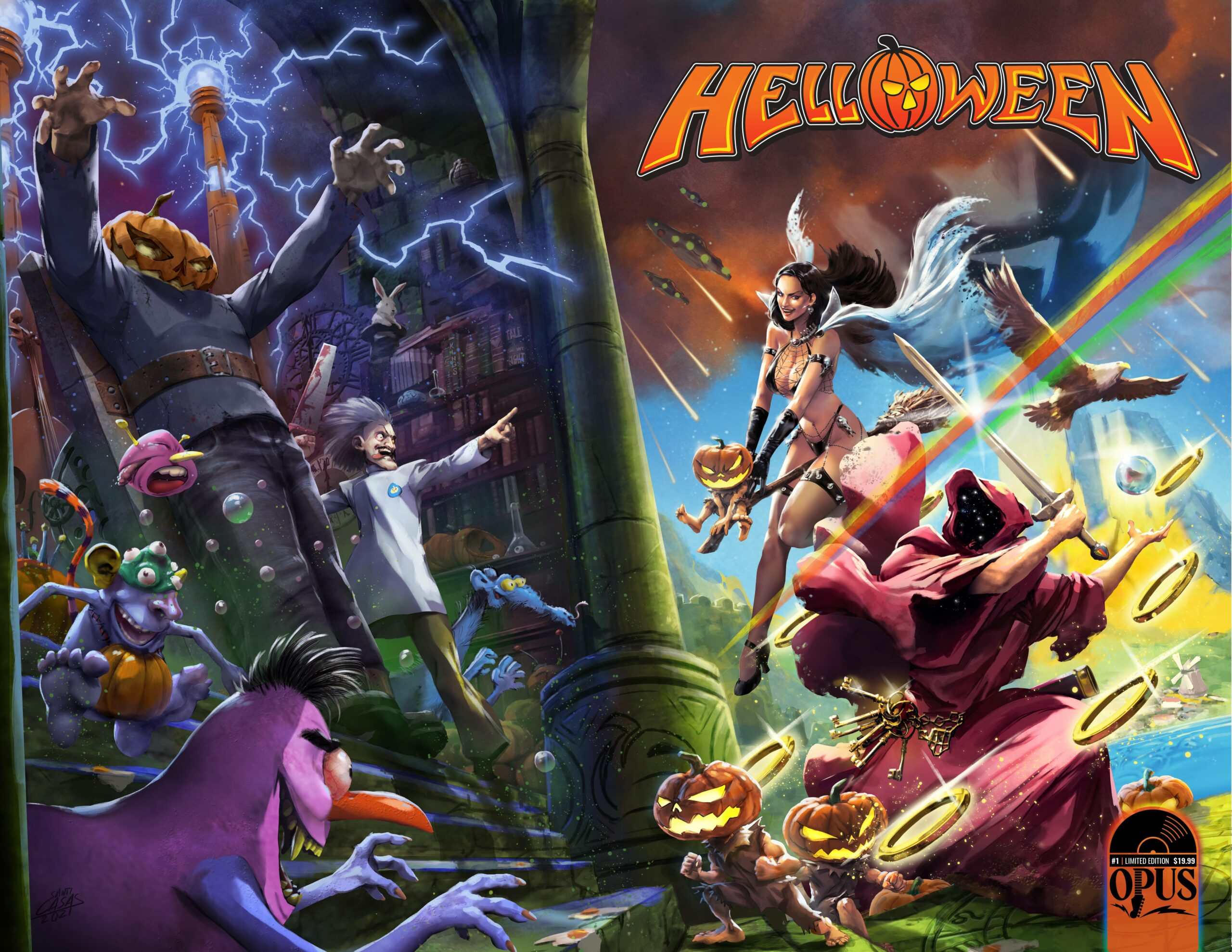 Incendium And Helloween Partner To Make Comics And Action Figures – COMICON